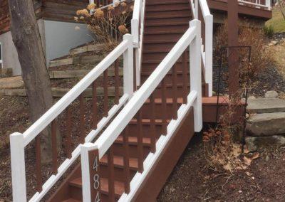 Painted Stairway