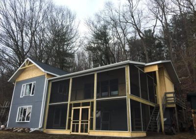 Addition and Screened-in Porch