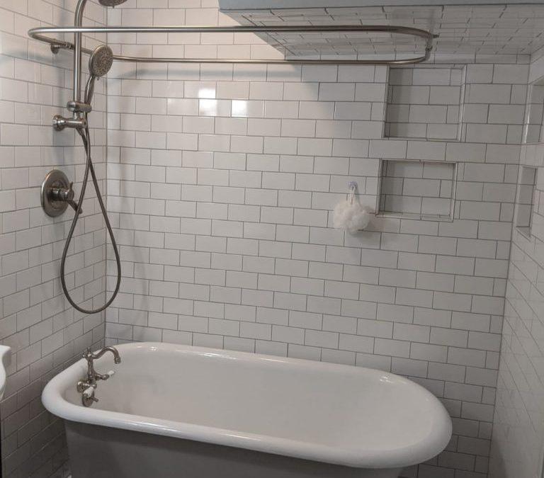 Victorian Inspired Bathroom Remodel