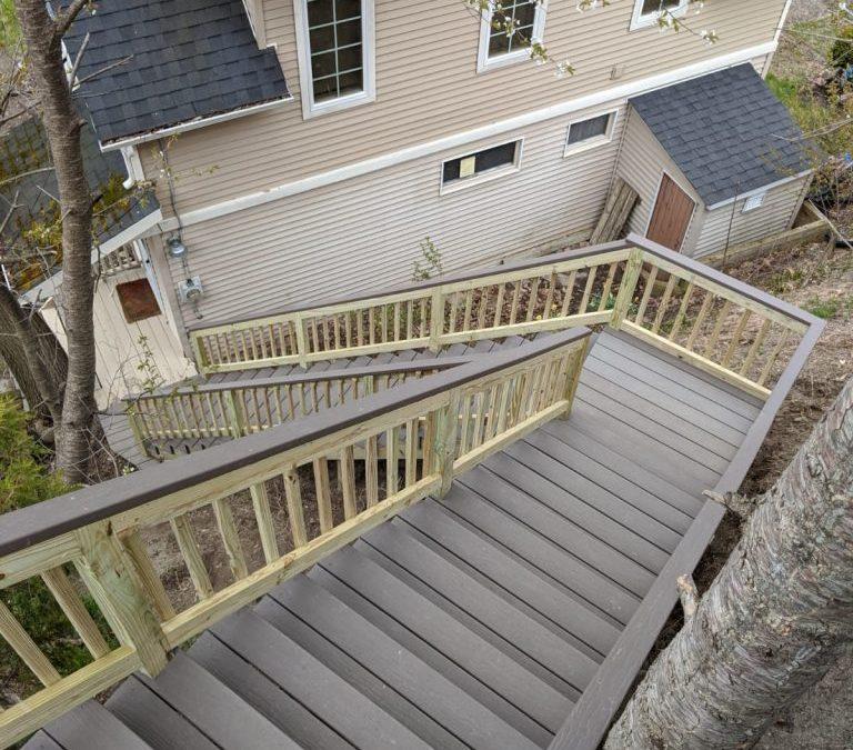 Lake House Stairway Update