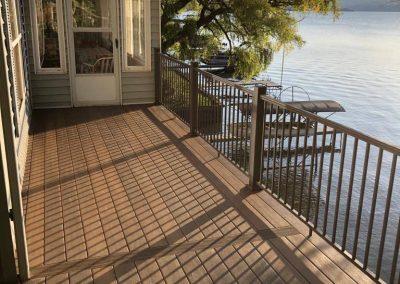New Lake House Deck