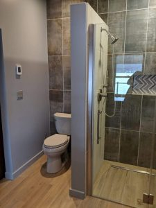 bathroom in addition