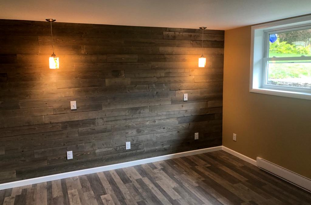 Bedroom Remodel with Accent wall