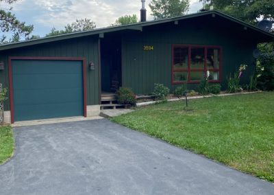 Home with New Exterior Paint