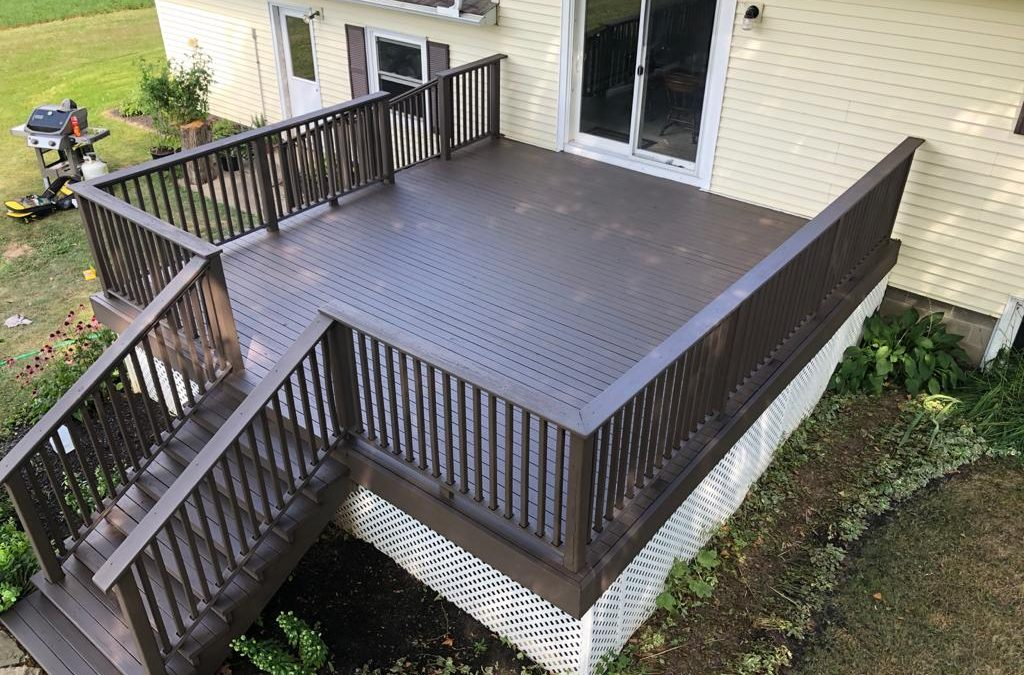 Solid Stain Deck