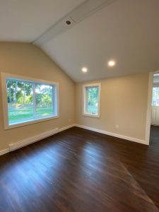 """""""after"""" living space remodel"""