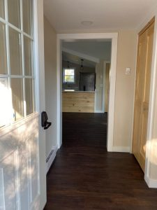 """""""after"""" entryway remodel"""