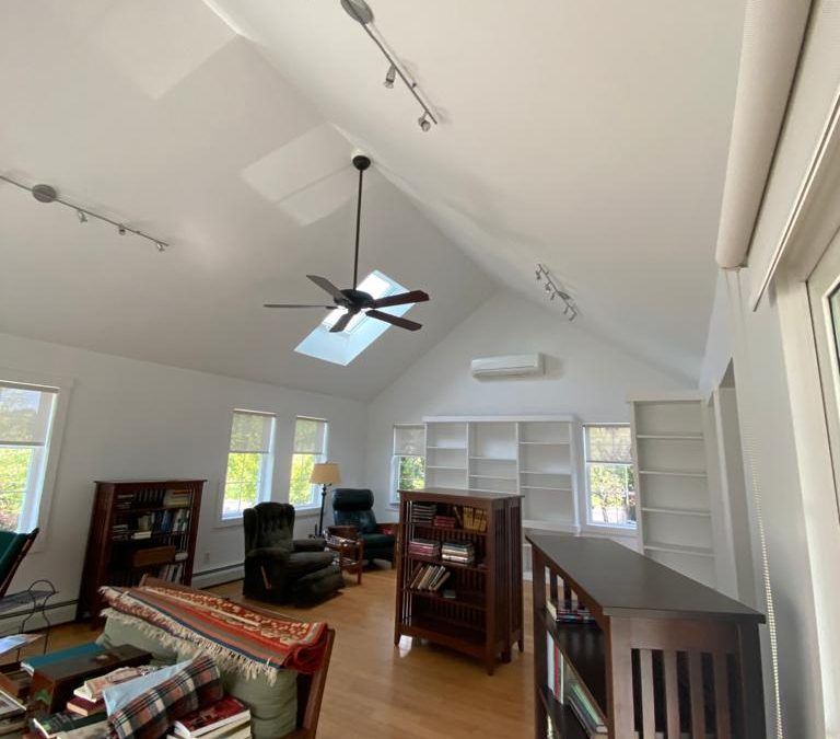 Walls to Ceiling Interior Paint