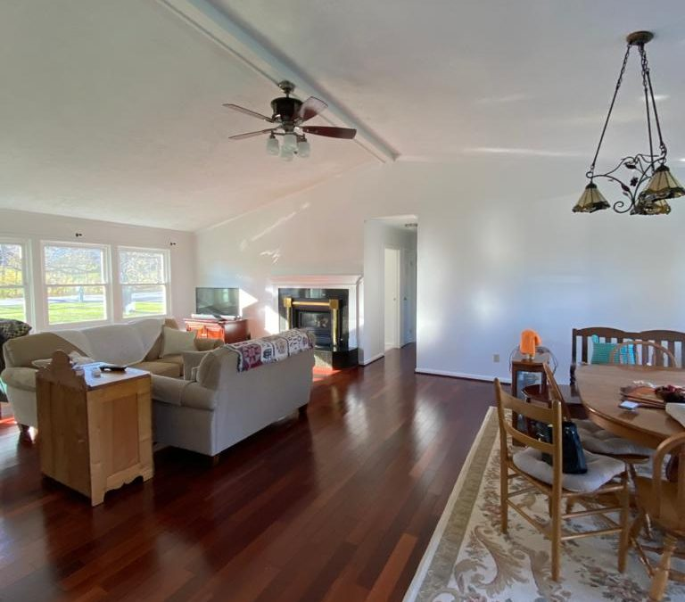 Painted Walls, Ceiling and Trim