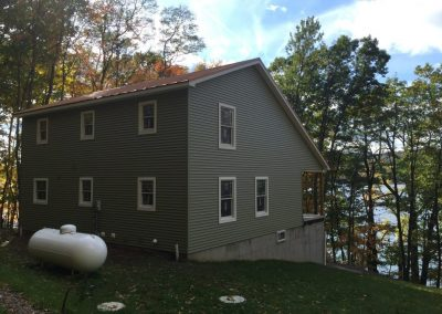 New Home With Side Porch